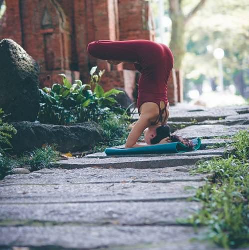 yogamatta tjock